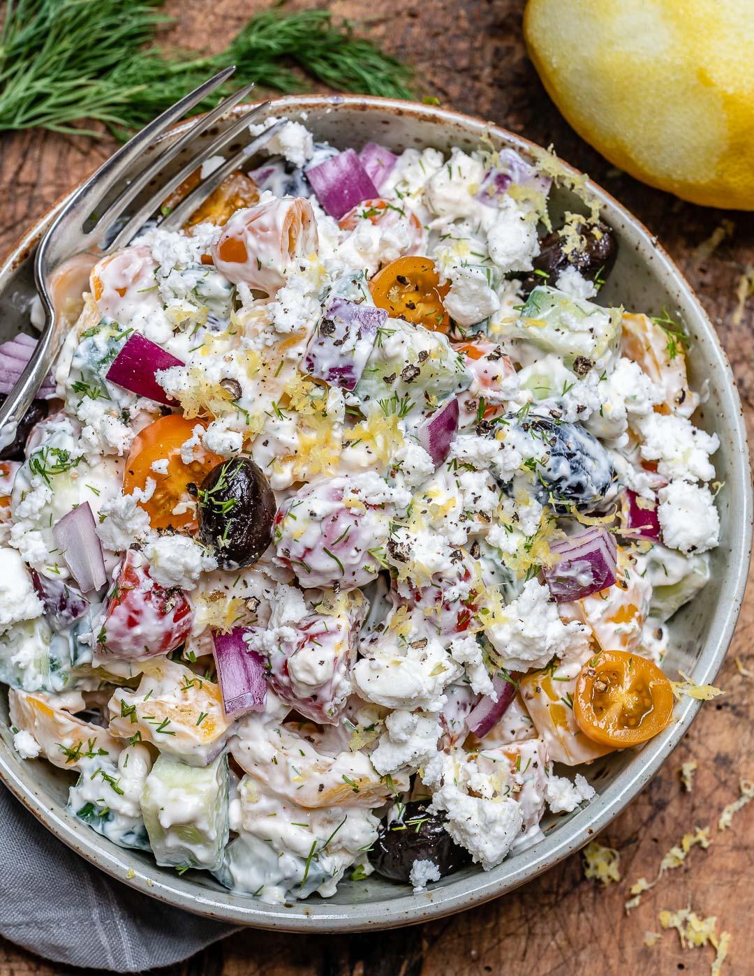 Reteta de Salata Greceasca La Borcan 7