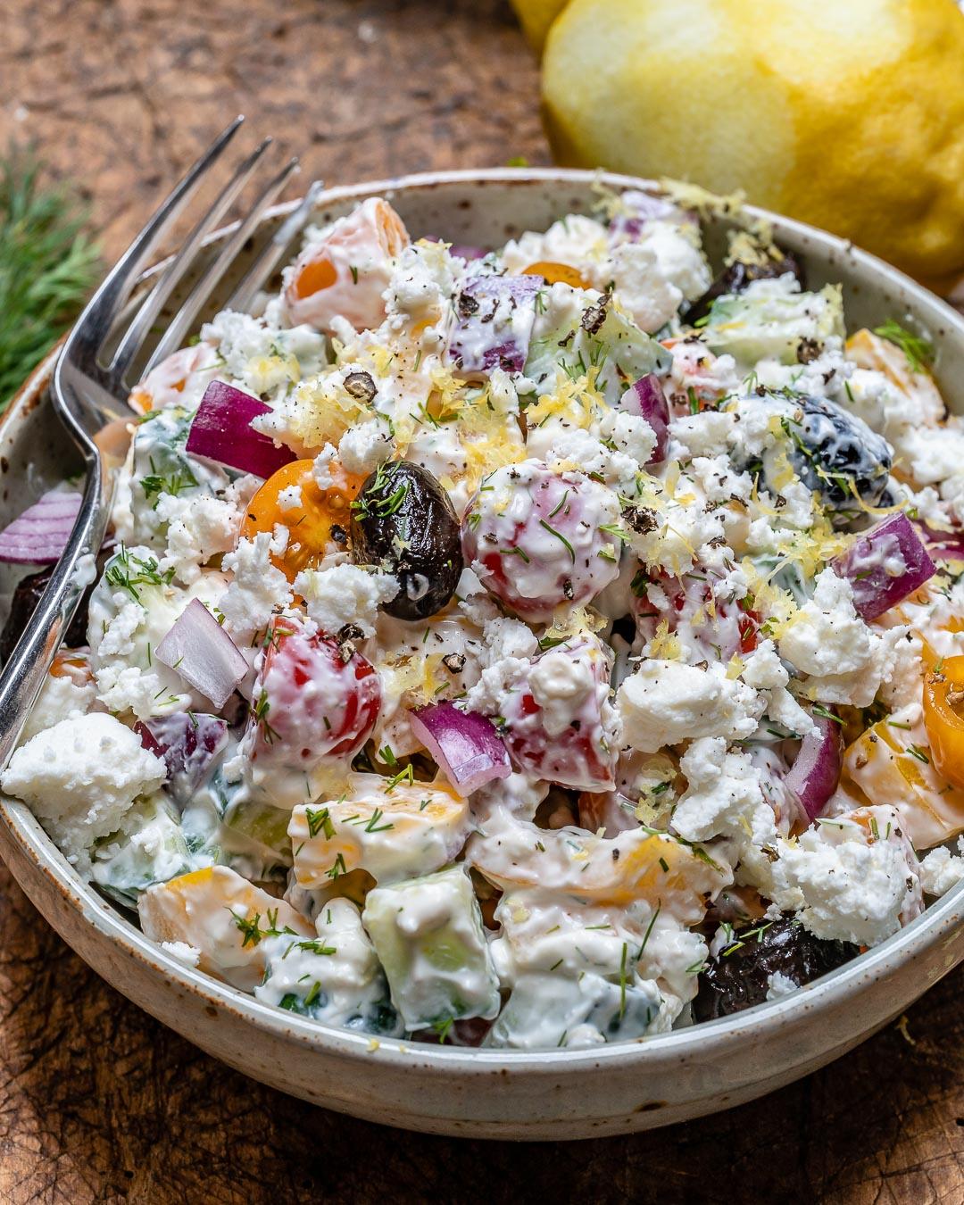 Reteta de Salata Greceasca La Borcan 8