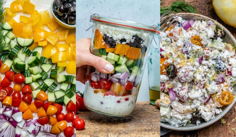 Greek Mason Jar Salad Recipe 31