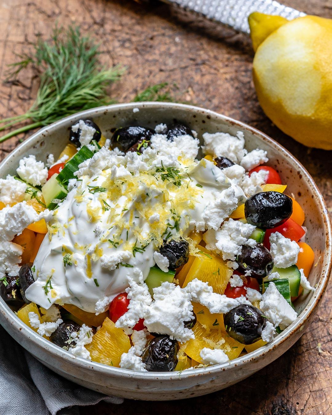 Reteta de Salata Greceasca La Borcan 4