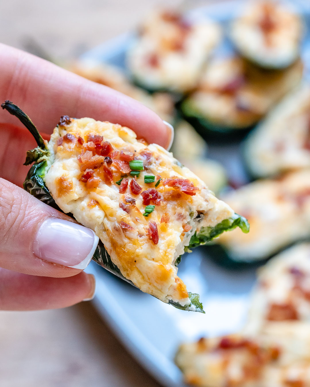Baked Jalapeno Poppers Recipe - Easy Keto Recipe-16