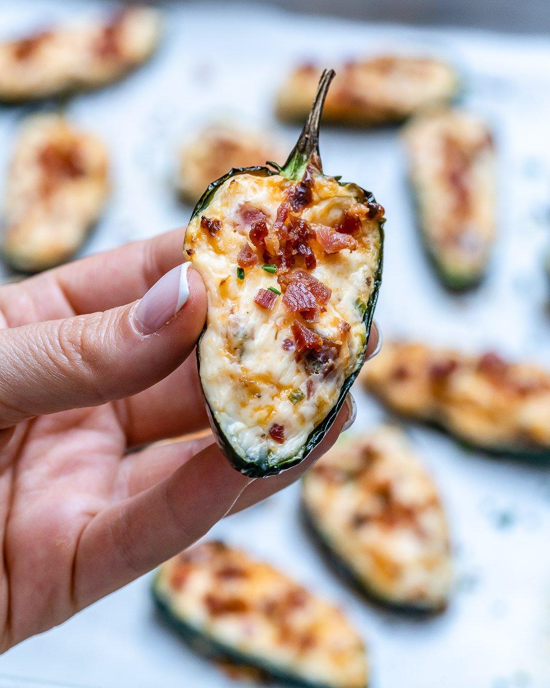 Baked Jalapeno Poppers Recipe - Easy Keto Recipe-7
