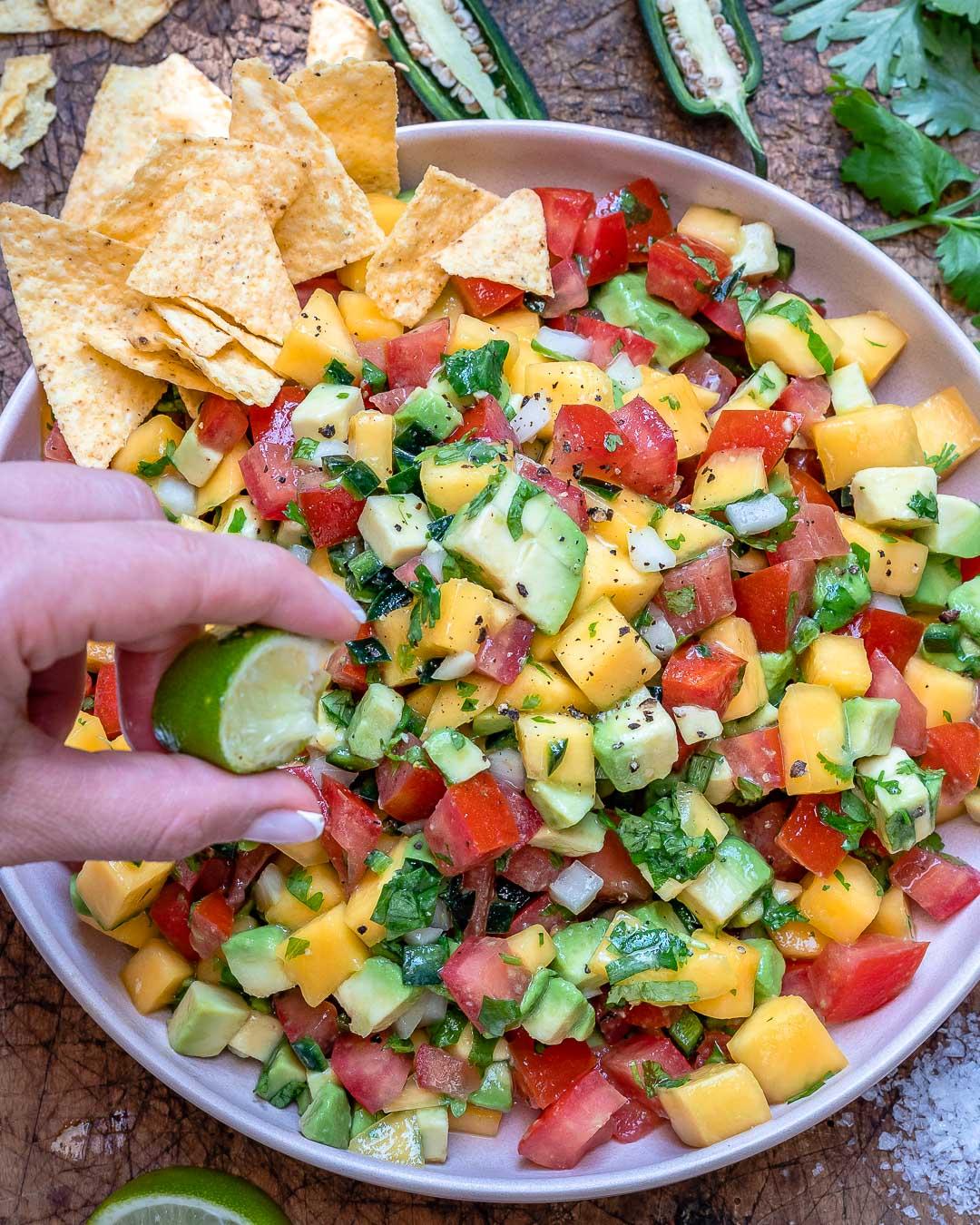 Mango And Avocado Salsa Recipe (Paleo & Whole30)-11