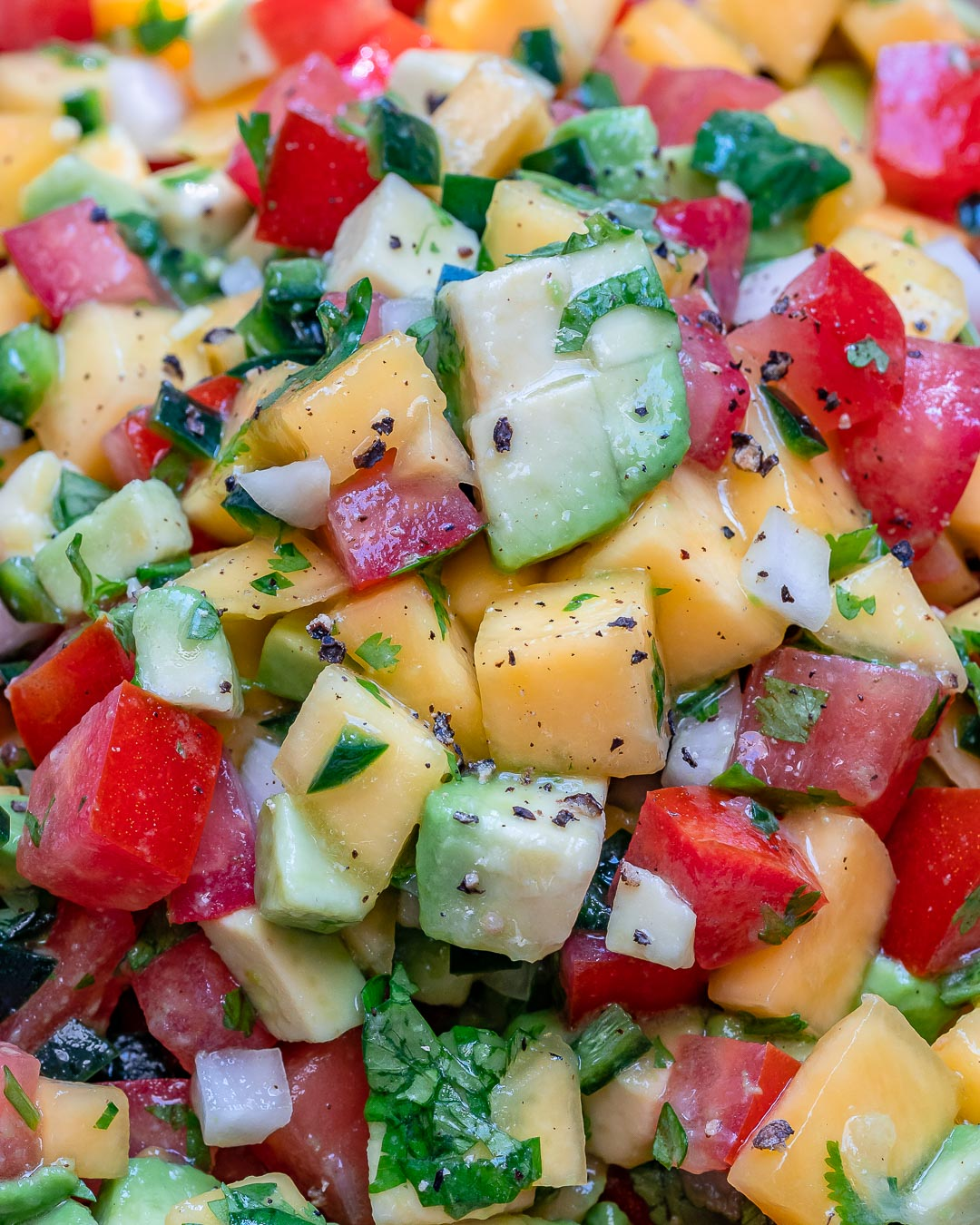 Mango And Avocado Salsa Recipe (Paleo & Whole30)-7