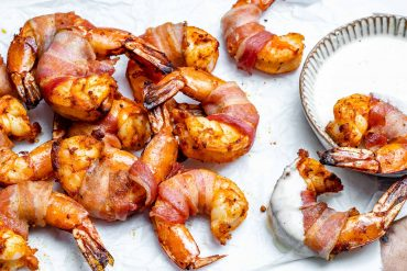 Keto Bacon Wrapped Shrimp Recipe-9