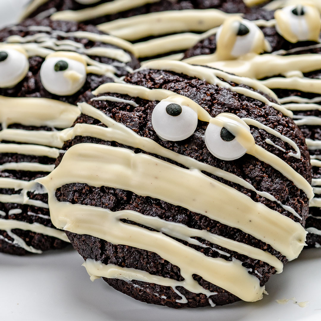 Easy Chocolate Cookies Recipe for Halloween and Christmas (Gluten Free)-19