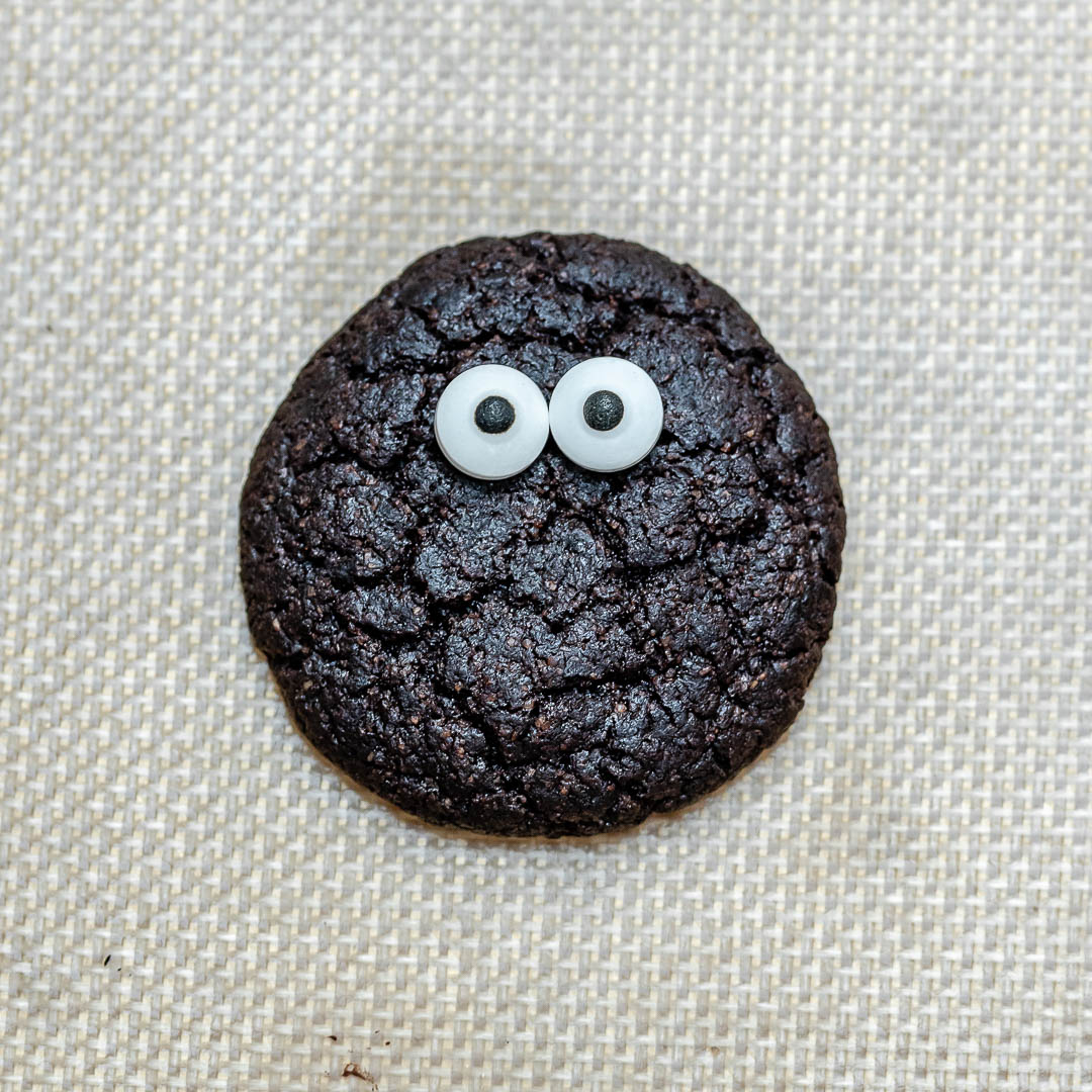 Easy Chocolate Cookies Recipe for Halloween and Christmas (Gluten Free)-7