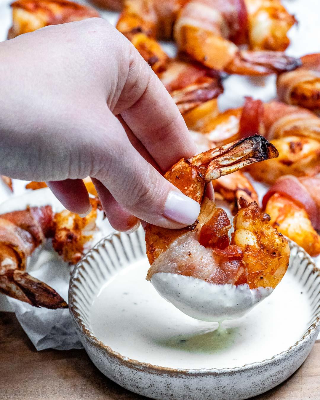Creveti Inveliti In Bacon - Reteta Keto 2