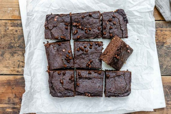 Pumpkin Chocolate Brownies Recipe (Vegan | Paleo | Gluten Free)-2