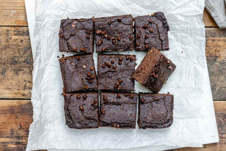 Pumpkin Chocolate Brownies Recipe (Vegan | Paleo | Gluten Free)-2