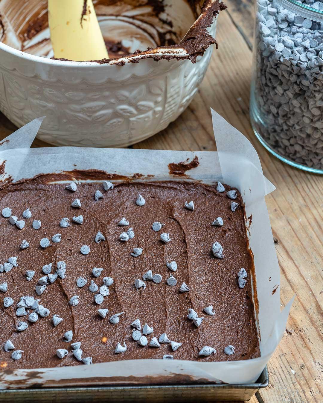 Pumpkin Chocolate Brownies Recipe (Vegan | Paleo | Gluten Free)-8