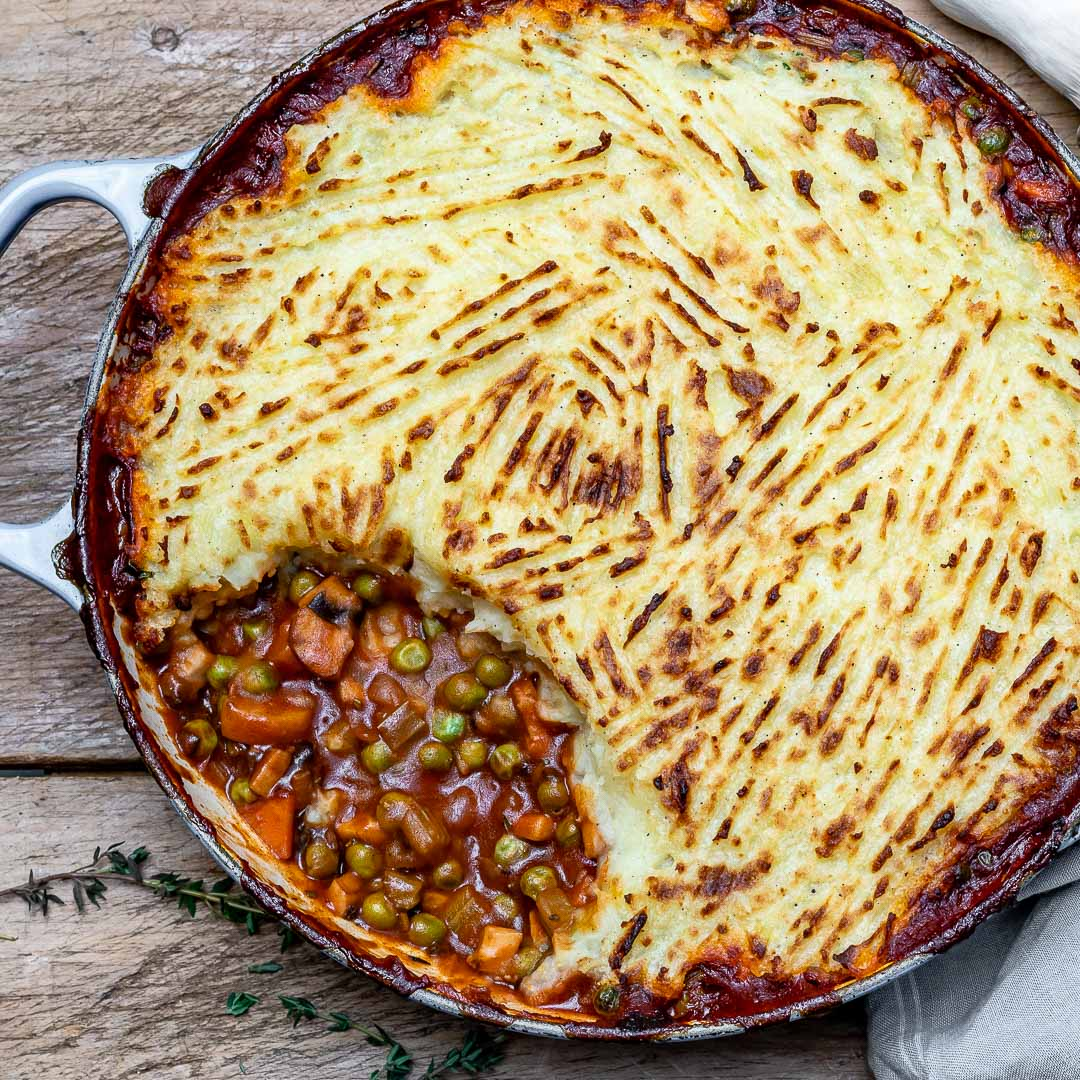 Easy Vegan Shepherd's Pie Recipe-11