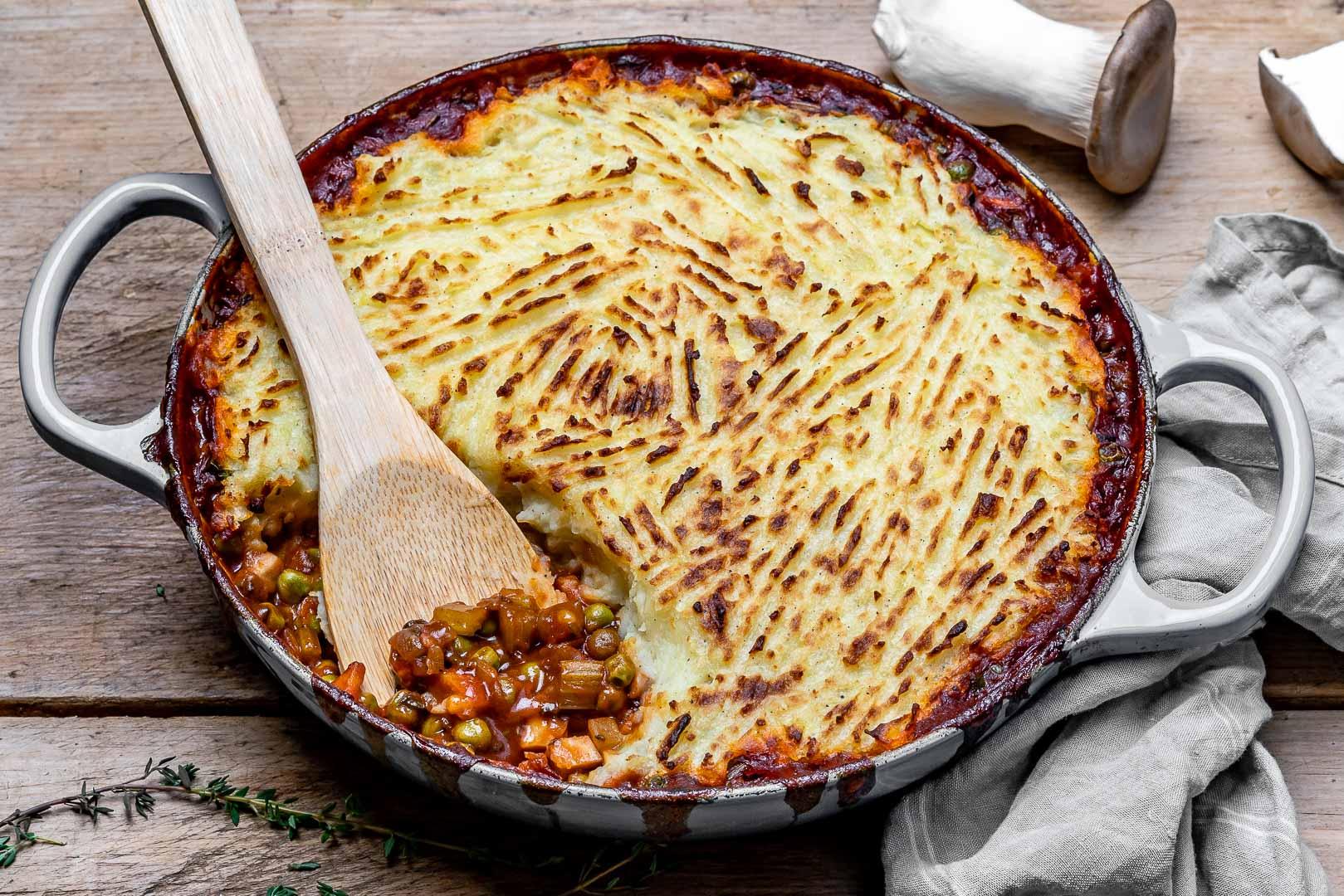 Easy Vegan Shepherd's Pie Recipe-13