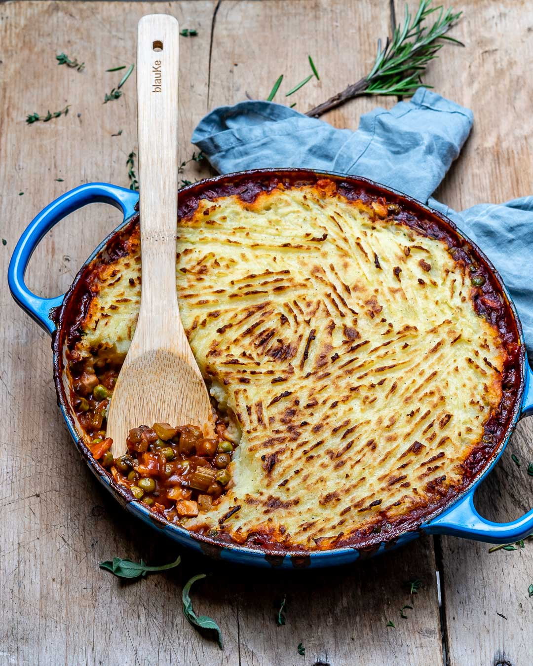 Easy Vegan Shepherd's Pie Recipe-14