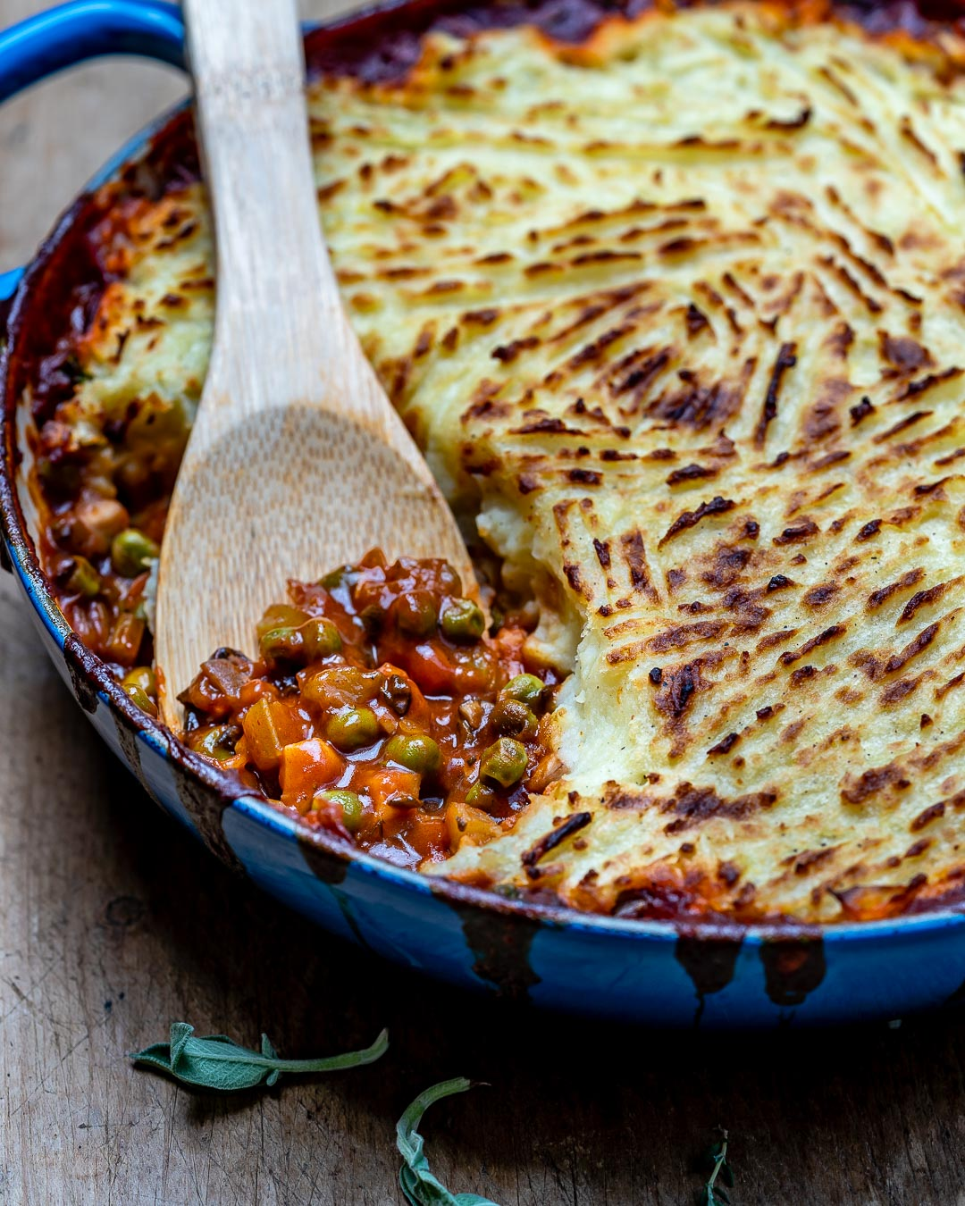 Easy Vegan Shepherd's Pie Recipe-16