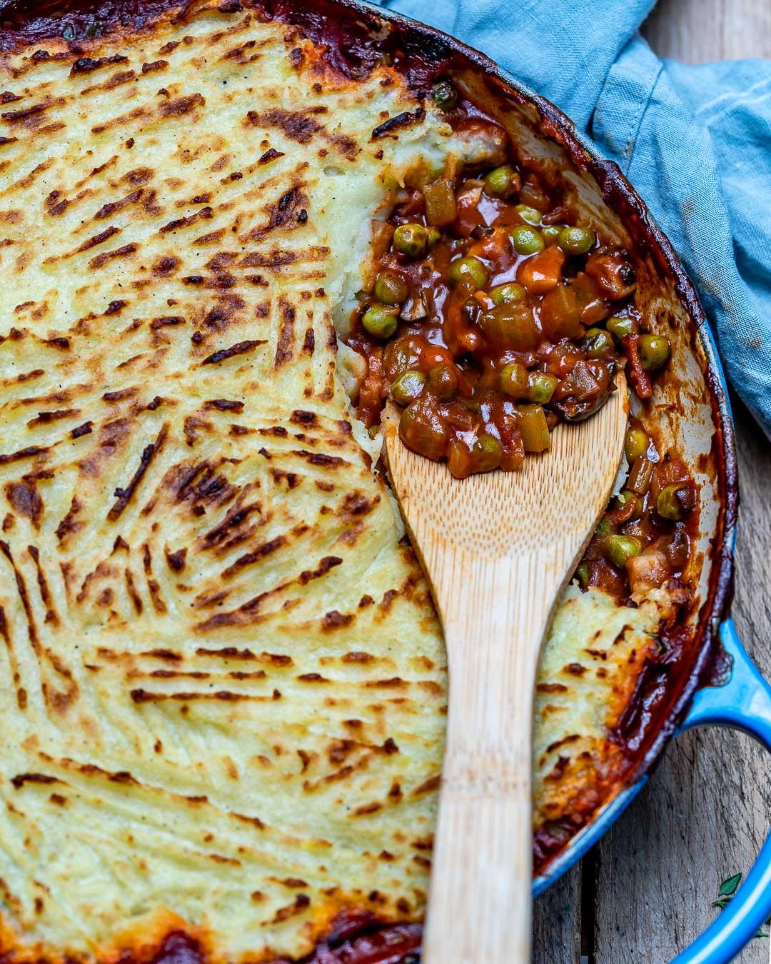 Easy Vegan Shepherd's Pie Recipe-17