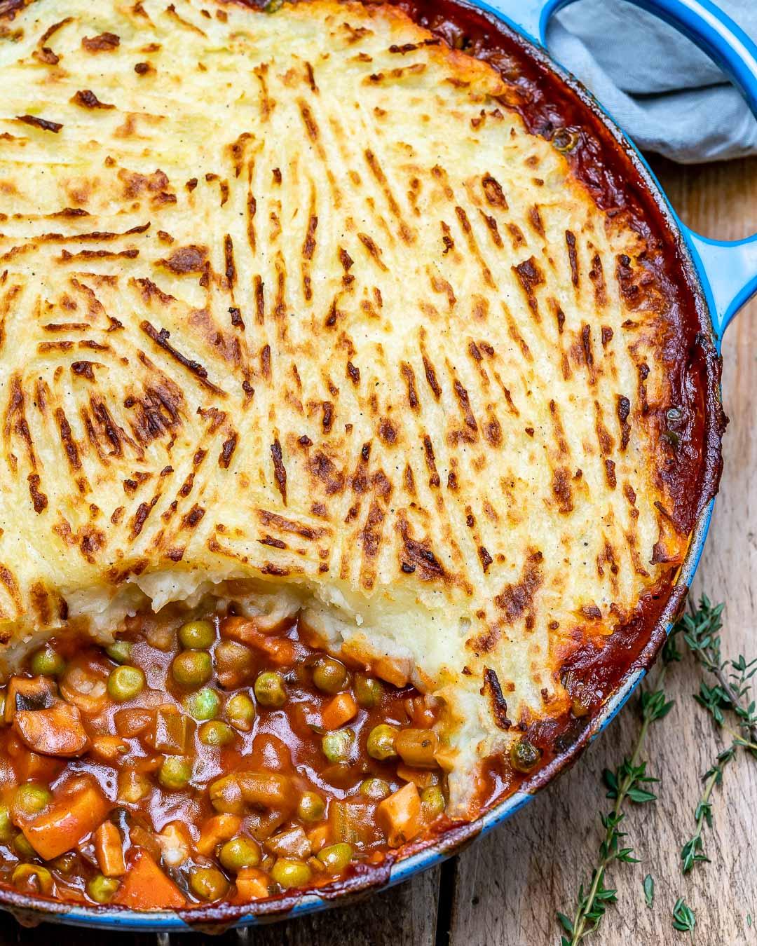 Easy Vegan Shepherd's Pie Recipe-9