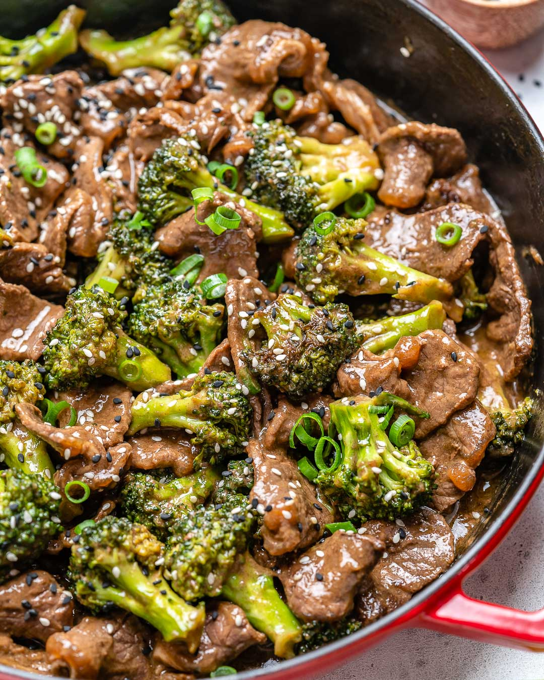 Beef And Broccoli Stir Fry (Gluten Free : Whole30 : Paleo Recipe)-13 2
