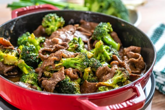 Beef And Broccoli Stir Fry (Gluten Free : Whole30 : Paleo Recipe)-6 2
