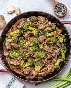 Beef And Broccoli Stir Fry (Gluten Free : Whole30 : Paleo Recipe)-7 2