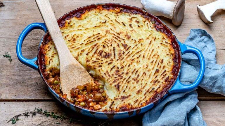 Placinta Ciobanului / Shepherd's Pie (Reteta Vegana) 1
