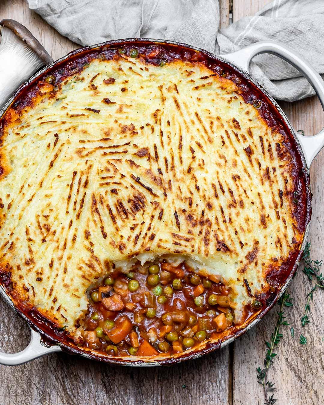 Placinta Ciobanului / Shepherd's Pie (Reteta Vegana) 8