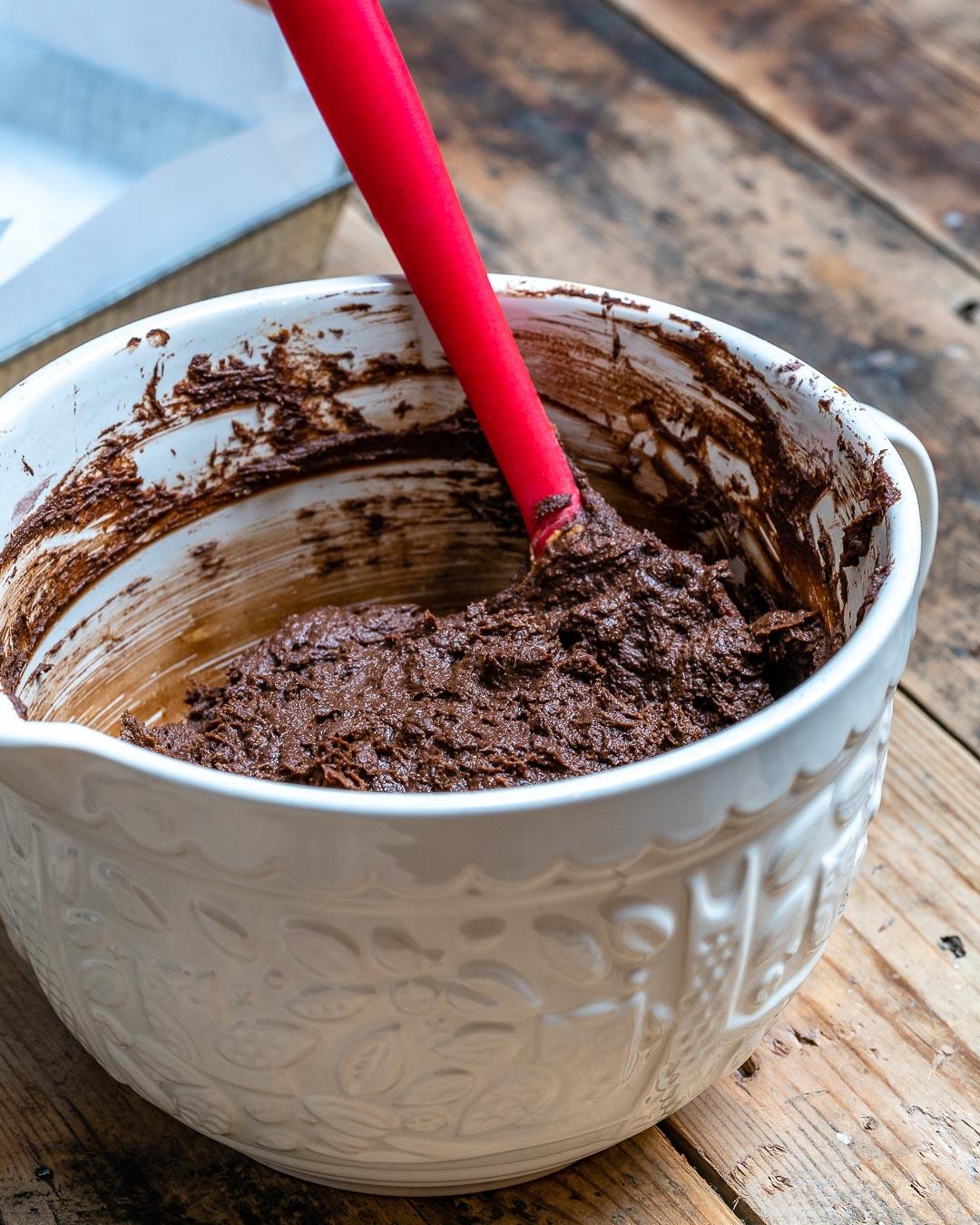 Brownie cu Ciocolata si Dovleac (Negresa Americana) - Reteta Vegana | Paleo | Fara Gluten 4