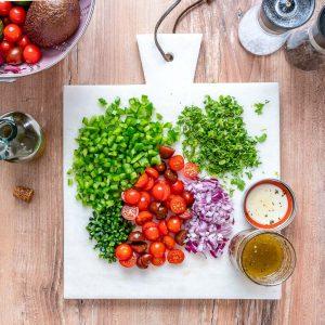 Reteta de Salata Texana Cu Dressing Italian 11