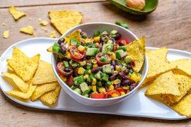 Cowboy Caviar With Italian Dressing (Vegan Recipe)-14