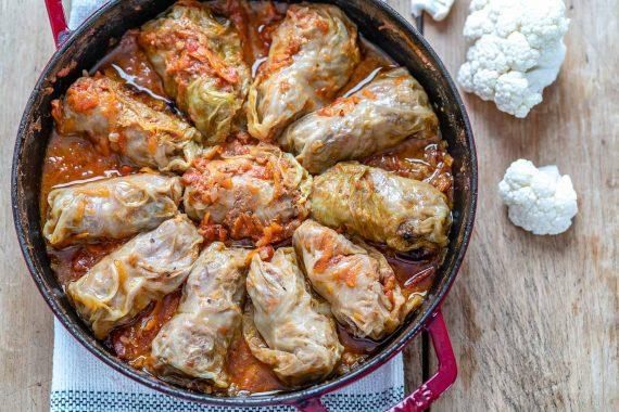 Keto Stuffed Cabbage Rolls (Gluten-Free & Low Carb Recipe)-11