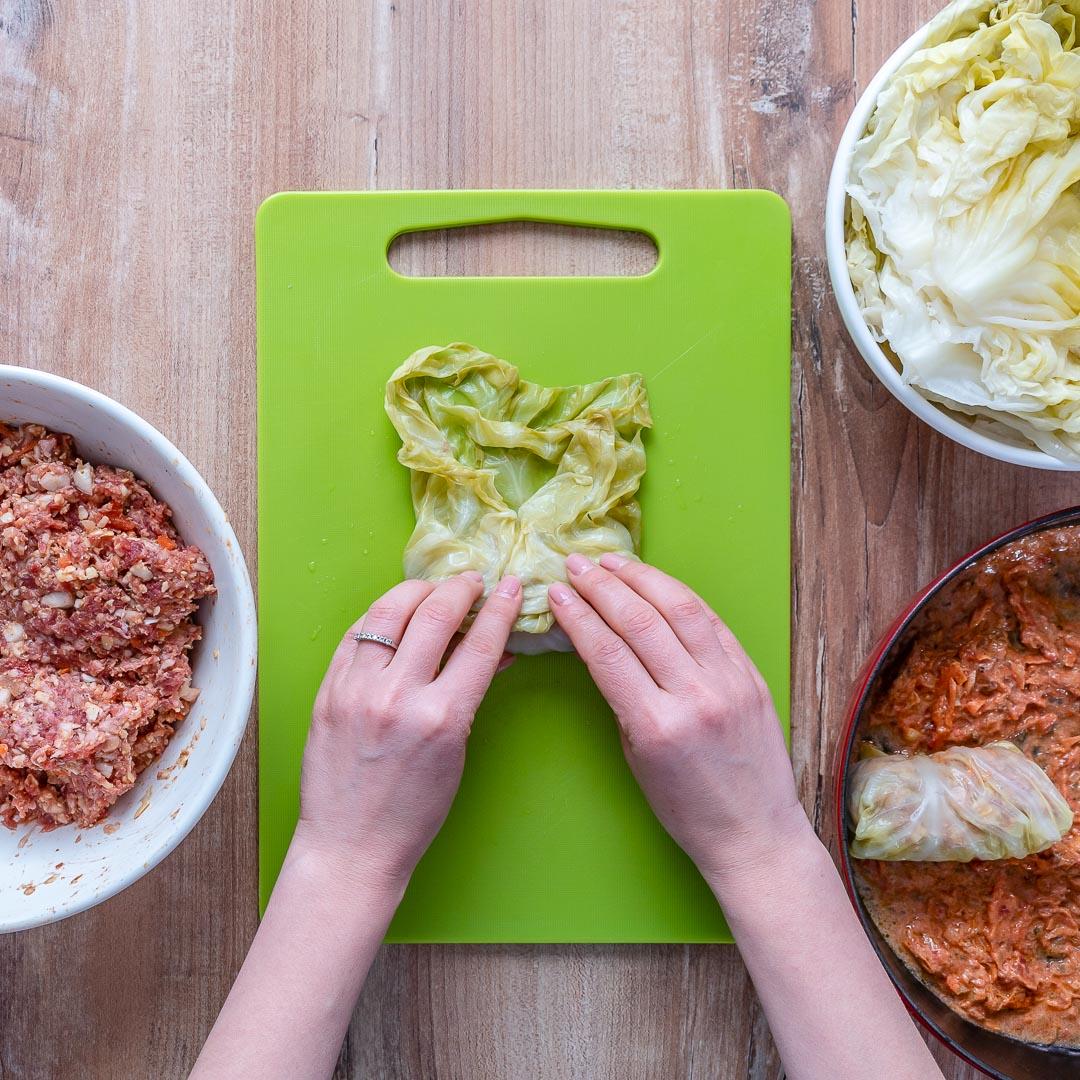 Keto Stuffed Cabbage Rolls (Gluten-Free & Low Carb Recipe)-27