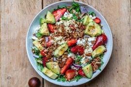 Strawberry avocado salad recipe-18