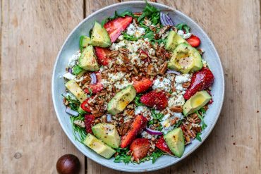 Strawberry avocado salad recipe-18