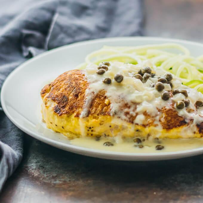 15. Keto Caper Chicken - A Super Delicious & Easy Keto Chicken Recipe - Best keto dinner ideas