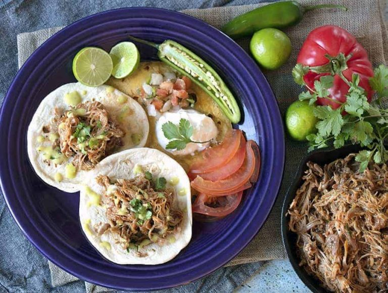 28. Instant Pot Chicken Tinga - Easy keto meals