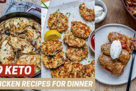 Best Easy Keto Chicken Recipes For Dinner
