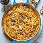 Vegan Creamy Mushroom Pasta Recipe-10