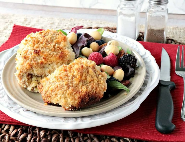 macadamia nut coated chicken thighs - Easy keto meals
