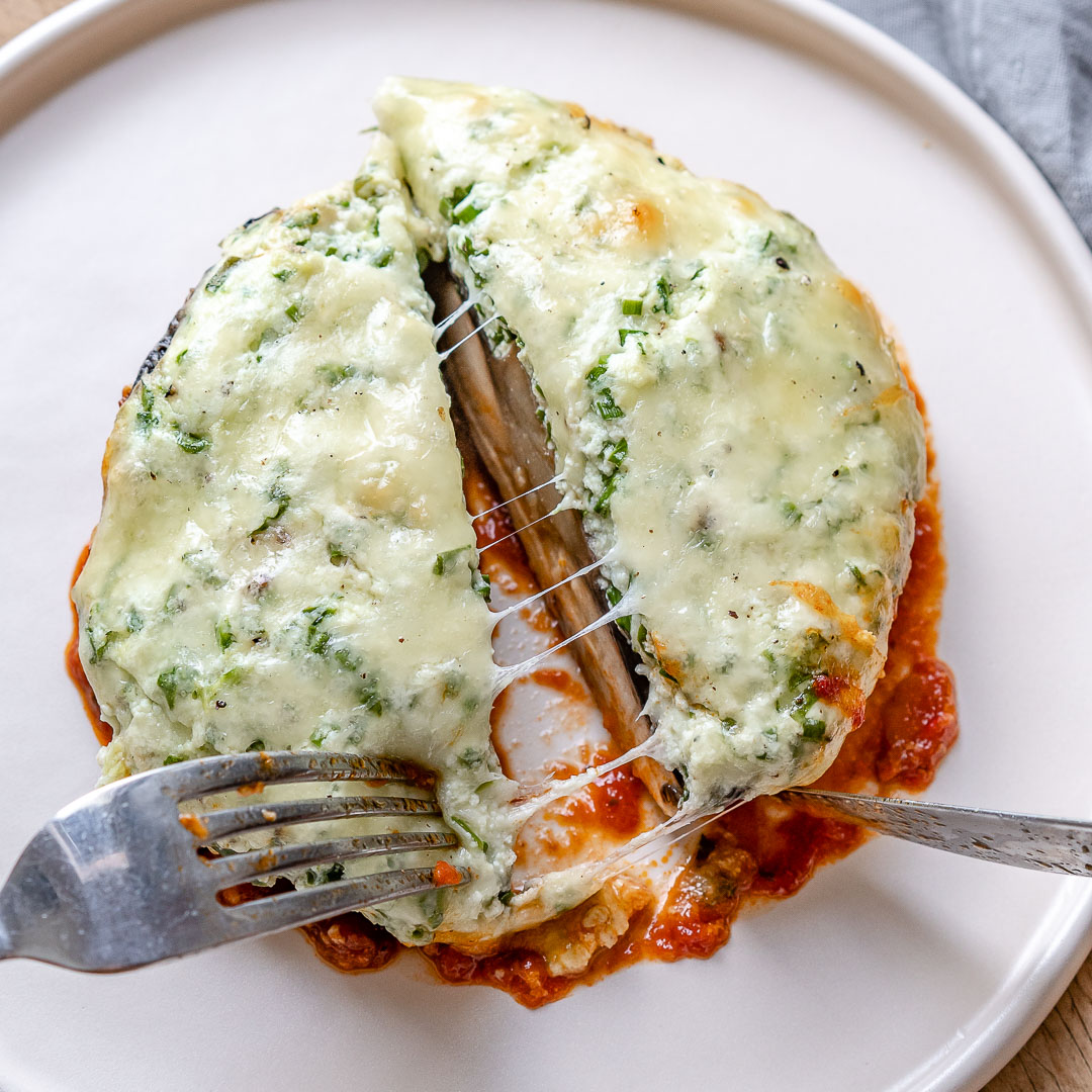 Keto Stuffed Portobello Mushrooms Recipe-16