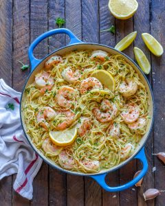 Creamy Shrimp Scampi With Angel Hair Pasta – How To Make Shrimp Scampi Pasta-3
