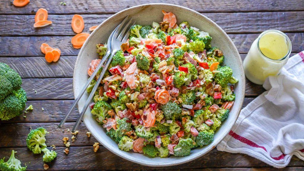 Keto Broccoli Bacon Salad Recipe