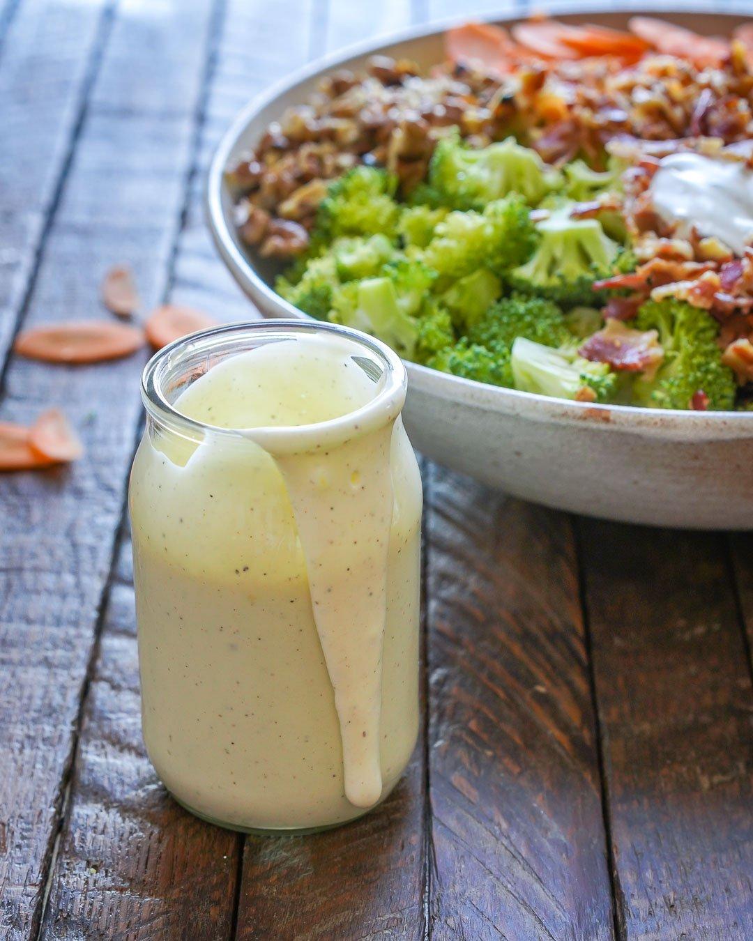 Keto Broccoli bacon salad recipe-9