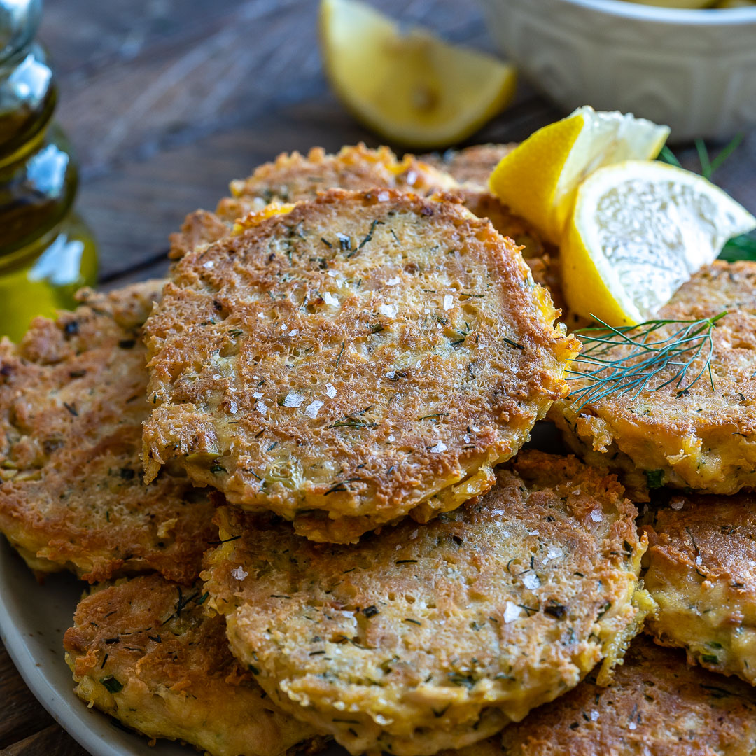 Keto Tuna Fritters Recipe (Low Carb:Whole30:Gluten-Free)-9