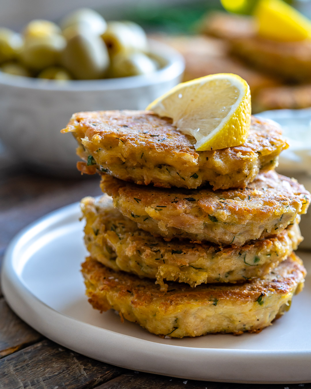 Keto Tuna Fritters Recipe (Low Carb:Whole30:Gluten-Free)-23