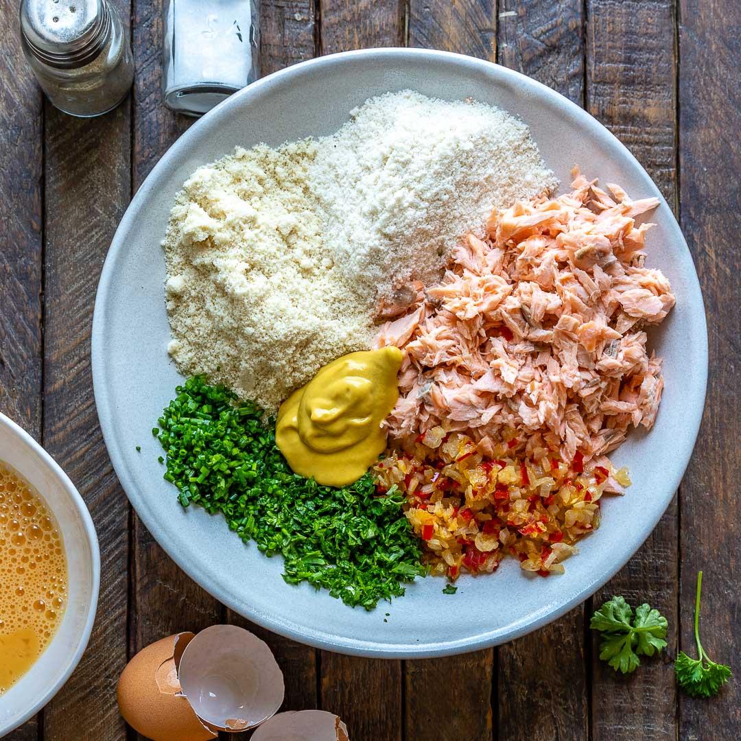 Easy Salmon Patties Recipe 2-Ways (Keto | Gluten-Free | Paleo | Whole30)-7