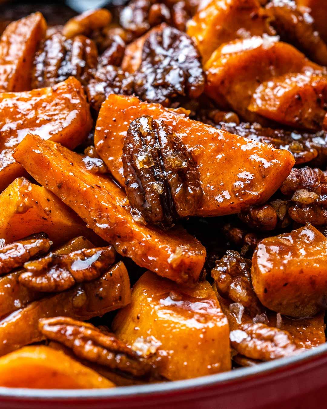 Cartofi Dulci La Cuptor Caramelizati – Reteta Video 9