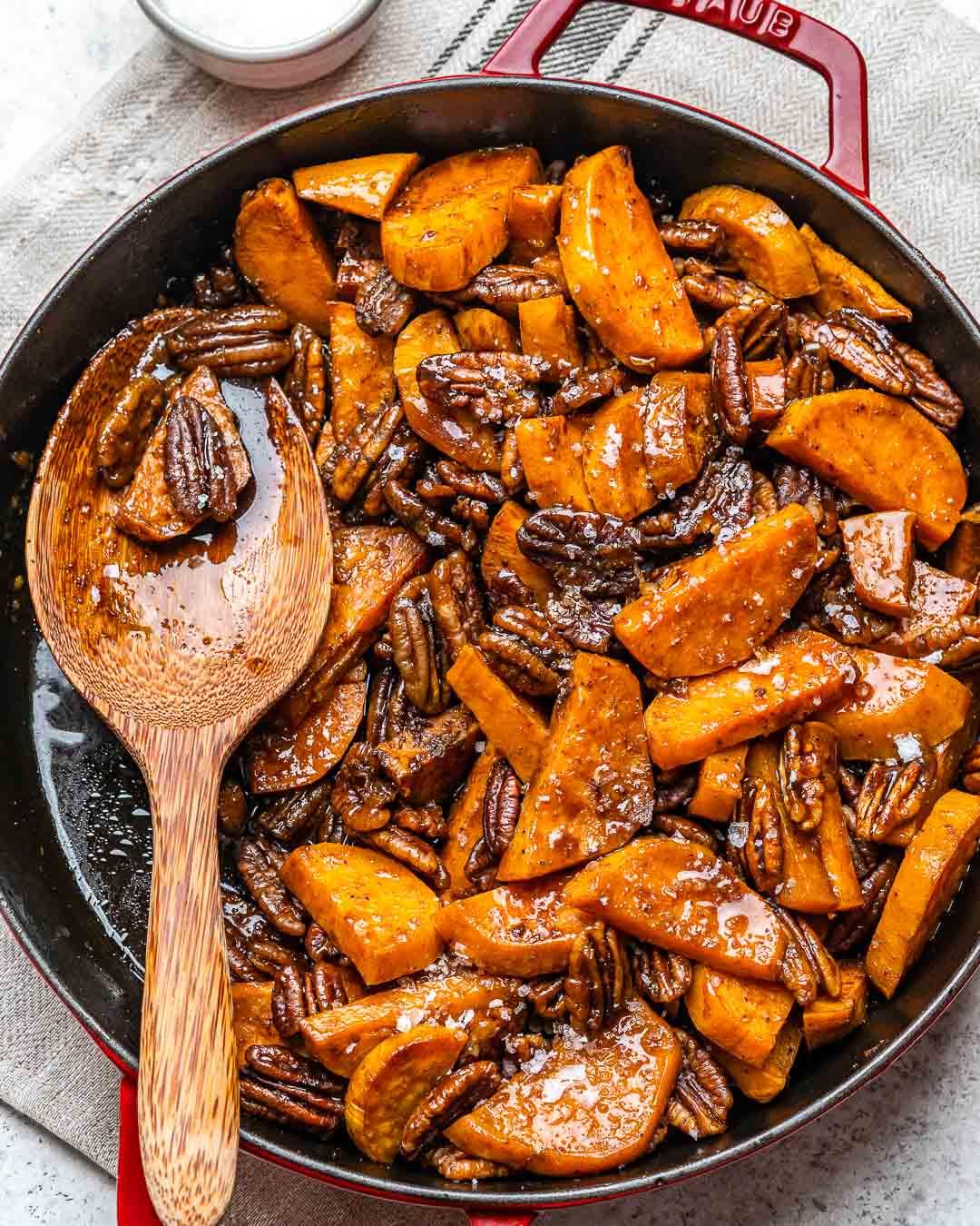 Cartofi Dulci La Cuptor Caramelizati – Reteta Video 12