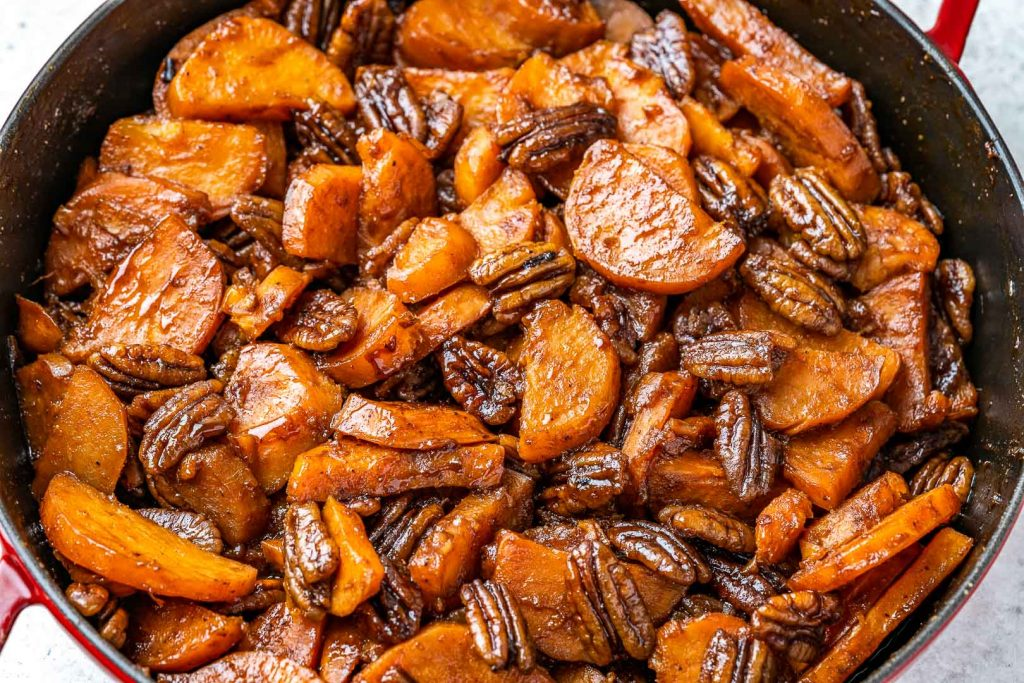Baked Candied Sweet Potatoes Recipe - 7