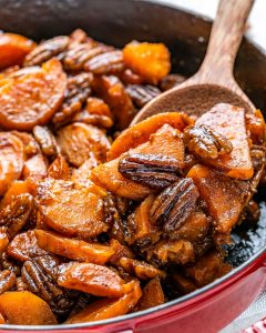 Cartofi Dulci La Cuptor Caramelizati – Reteta Video 8