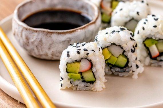 California Rolls Recipe + Sushi Rice Recipe - 11